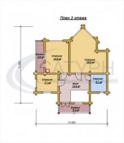 Проект Витязь - План 2 этажа